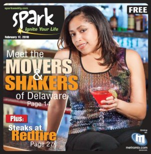 Spark Magazine 2010 Top Movers & Shakers cover