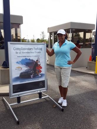 Mercedes Benz @ US Open 9/16